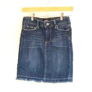 Paige denim skirt size 26